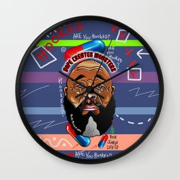 Dope Creates Monsters Fully Loaded Wall Clock