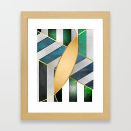 Line Design Framed Art Print