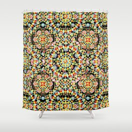 Flower Crown Bohemian Shower Curtain