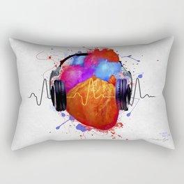 No Music - No Life Rectangular Pillow