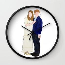 Dr. & Dr. FitzSimmons Wall Clock