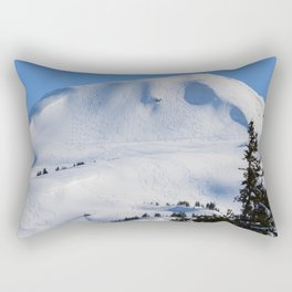 Back-Country Skiing  - III Rectangular Pillow
