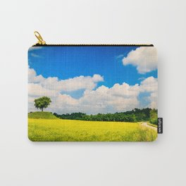 lonely tree in the fields of Italy Carry-All Pouch