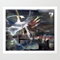 Abracadabra (oil on canvas) Art Print