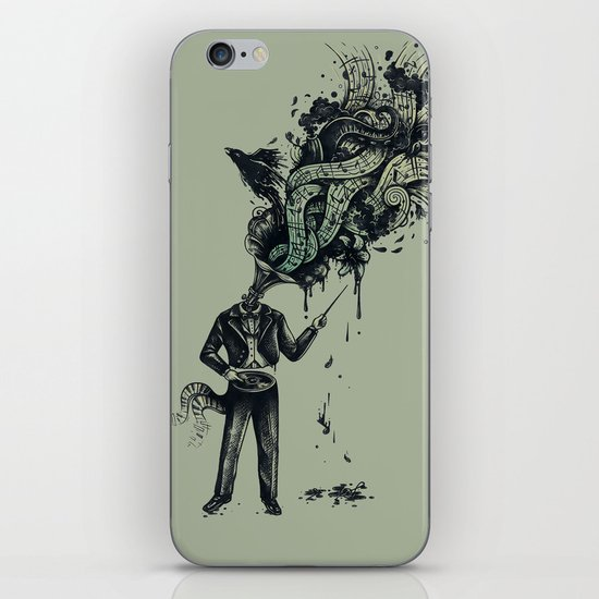 Decaying Sound of The Terror iPhone & iPod Skin