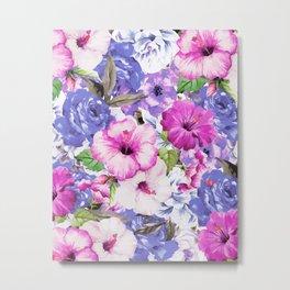 Purple Blossom #society6 #buyart #decor Metal Print