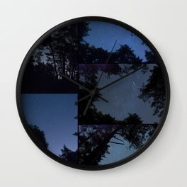 Canencia Night Sky Wall Clock