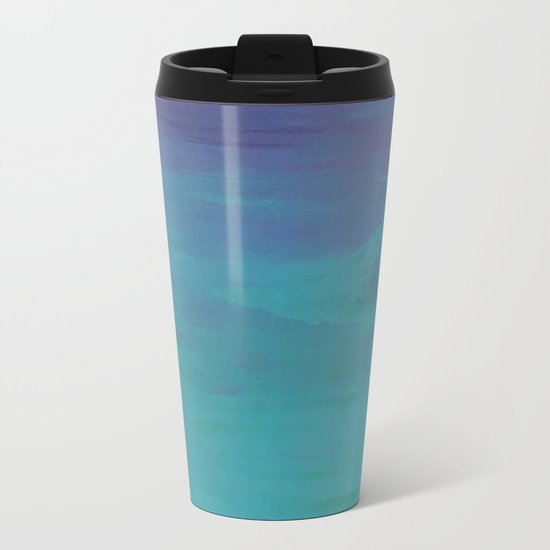 Under a Caribbean Moon Metal Travel Mug