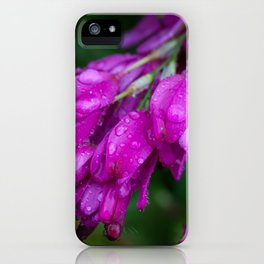 Purple Drops iPhone Case
