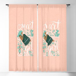 Smart Girl - v4 Blackout Curtain