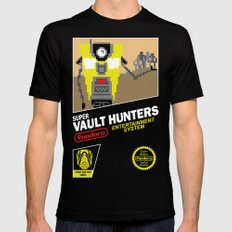 Super Vault Hunters LARGE Black Mens Fitted Tee