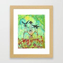 The Murder Rescue Framed Art Print