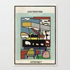 lichtenstein+alsop Canvas Print