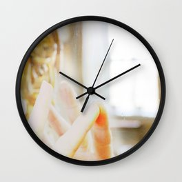 Reflection and connection Wall Clock