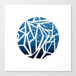Bird, Paper, Sky Canvas Print