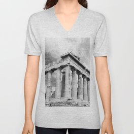 Mystical Parthenon Unisex V-Neck
