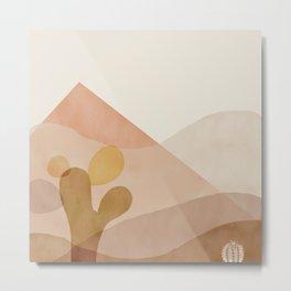 Desert plants Metal Print