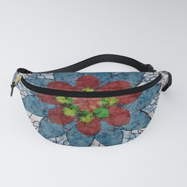 Marble Quilt Fanny Pack