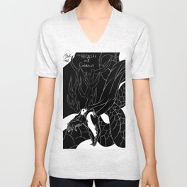 Serpent Denial Unisex V-Neck