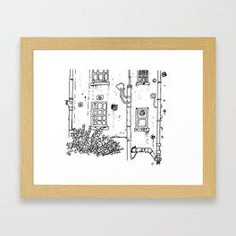"""Melrose Place, Clifton"" Framed Art Print"
