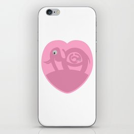 Pregnant Elephant Heart iPhone Skin