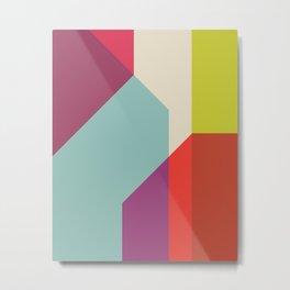Cacho Shapes XL Metal Print