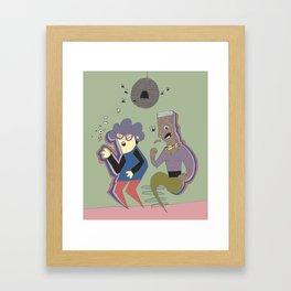 Disc-ho Framed Art Print