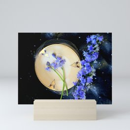The Bluebells And Gold Fleet Mini Art Print