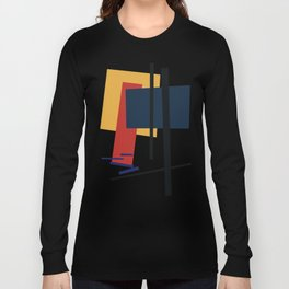 Tribute to K. Malevich (n.1) Long Sleeve T-shirt