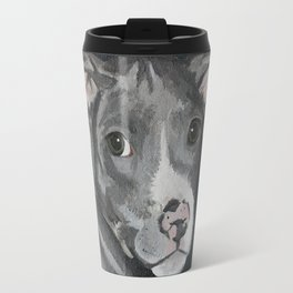Pluto the Pitbull Travel Mug