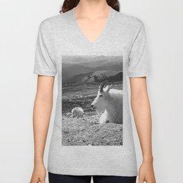 Mountain Goats Unisex V-Neck