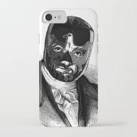 wrestling iPhone & iPod Cases featuring WRESTLING MASK 7 by DIVIDUS