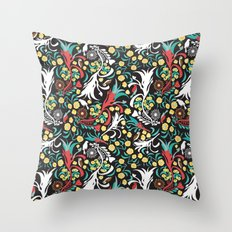 Kookaburra Camouflage Throw Pillow