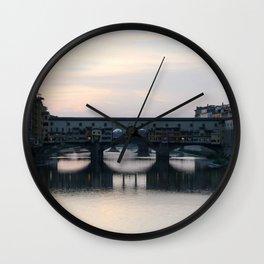 Ponte Vecchio - Firenze Wall Clock