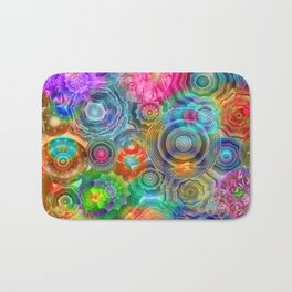 Flowery Meadow 2 Bath Mat