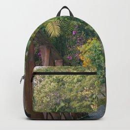 Plantas y flores Backpack