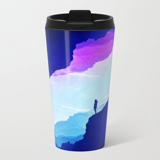 Violet dream of Isolation Metal Travel Mug