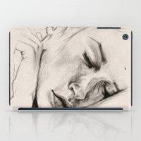 sleep iPad Cases featuring SLEEP by Joelle Poulos