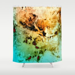 δ Minelava Shower Curtain