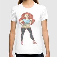 ginger T-shirts featuring Ginger.  by A.S.M Designs