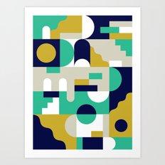 Forms I Var Art Print