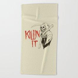 Killin It Beach Towel
