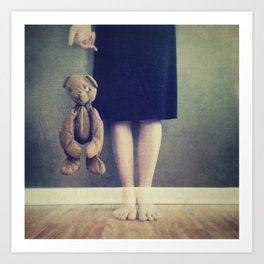 Don't Let Go Art Print