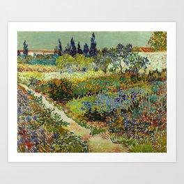 Vincent Van Gogh - Garden at Arles Art Print