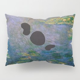 Lochness Monster in the Lillies Pillow Sham