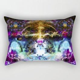 The Center Of Imagination Rectangular Pillow