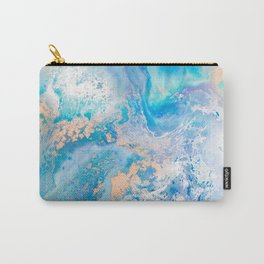 Into the Blue Lagoon Carry-All Pouch