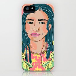 Girl From Buenos Aires iPhone Case