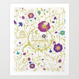 birdy romeo and juliet Art Print