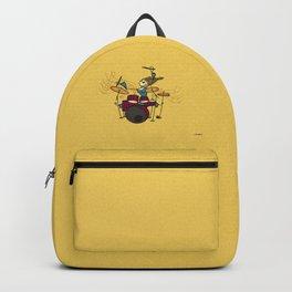 Crazy drummer Backpack